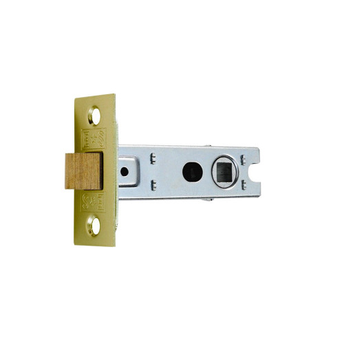 Tubular Mortice Latch 63mm Electro Brass