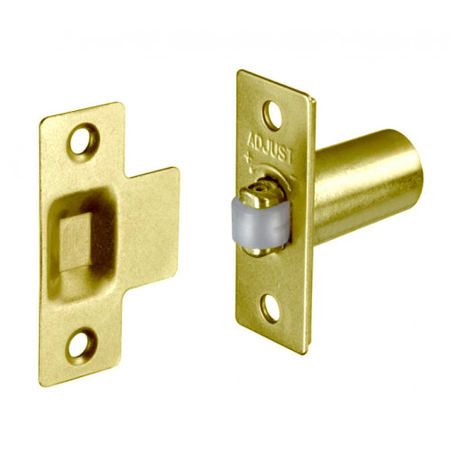 Mortice Roller Latch Adjustable 38mm Electro Brass