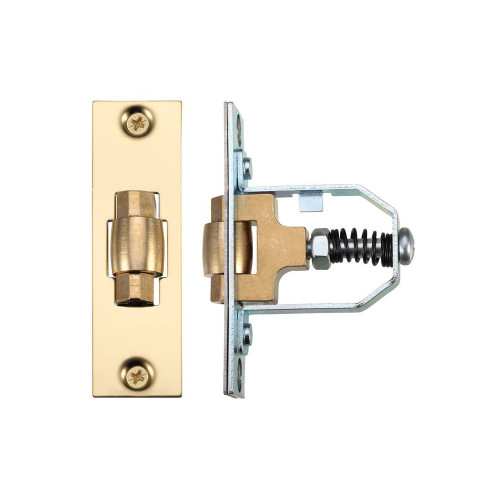 Legge Mortice Roller Latch 51mm Polished Brass