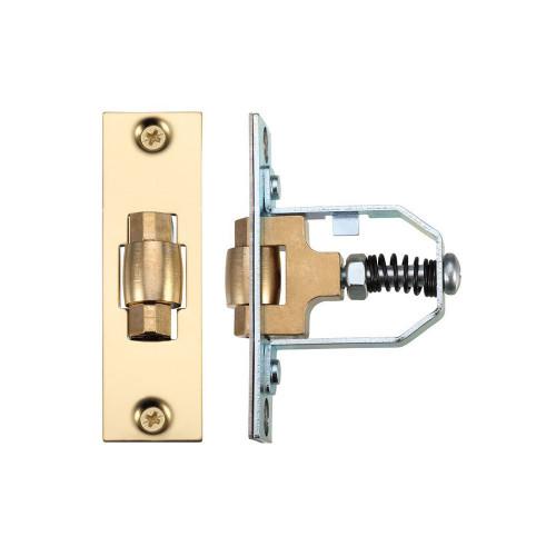Legge Mortice Roller Latch 51mm Polished Brass