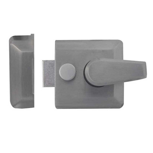 Nightlatch Narrow Style 62mm Satin Chrome