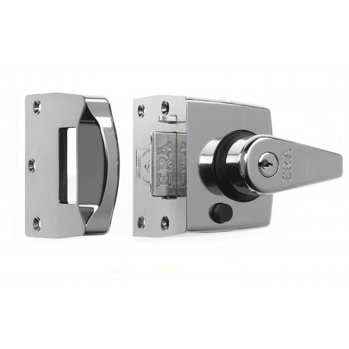 ERA Nightlatch Narrow Style B.S. Kite Marked 62mm Polished Chrome