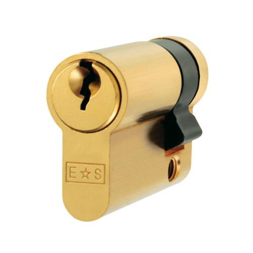 Single Euro Cylinder 40mm Brass
