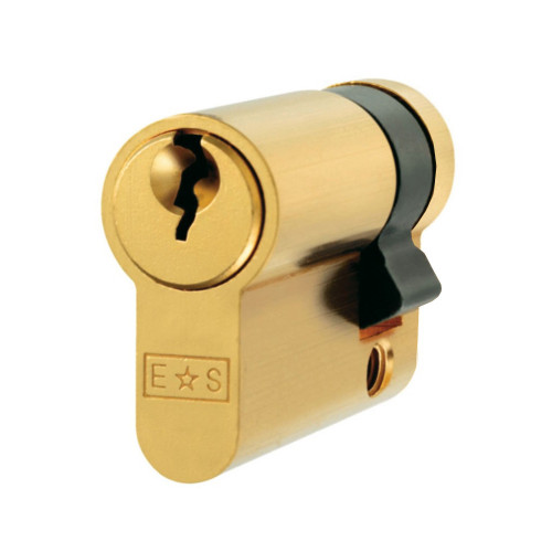 Single Euro Cylinder 40mm Brass
