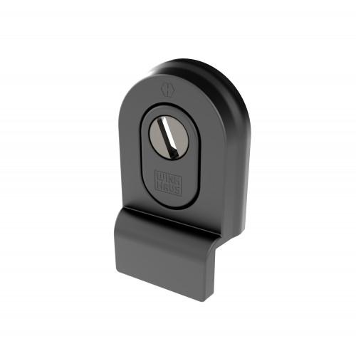 Heritage Security Door Pull Black