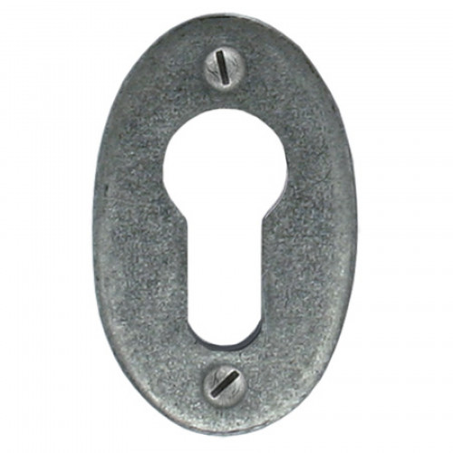 Anvil Euro Escutcheon Oval 33706 Pewter