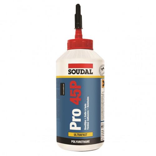 PU Adhesive Soudal Pro40P 5minute 750G