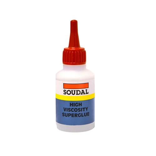 Superglue Soudal High Viscosity 50G