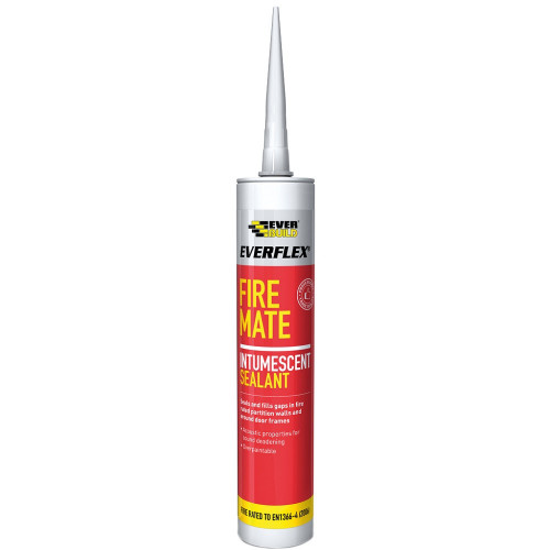 Intumescent Acrylic Sealant Fire Mate White, 310ml