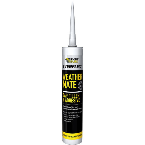 All Weather Sealant Weather Mate White 310ml