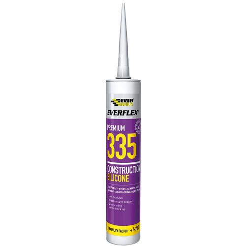 Silicone Low Modulus Construction Sealant White 310ml