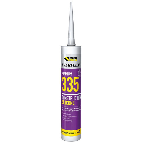 Silicone Low Modulus Construction Sealant White 310ml
