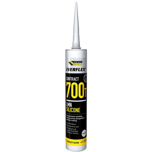 Silicone Neutral Cure Sealant Clear 310ml
