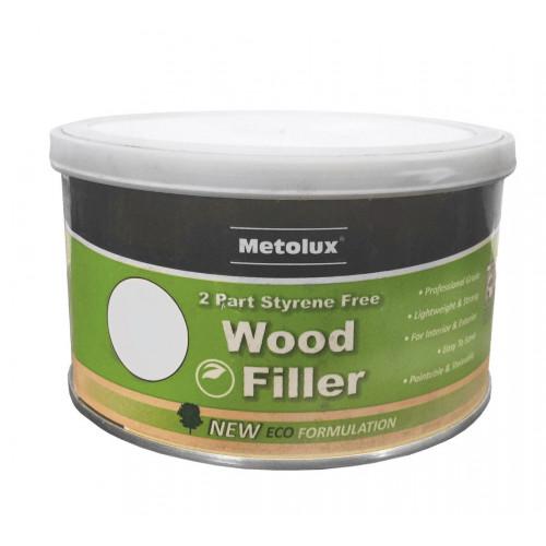Wood Filler 2 Part Metolux Timbafil Light Oak Handy Pack 275ml