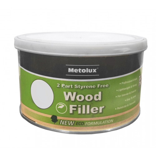 Wood Filler 2 Part Metolux Timbafil Light Oak Handy Pack 275ml