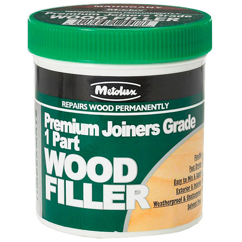 Wood Filler/Stopper Stainable 1-Part Metolux Timbermate Dark 250ml