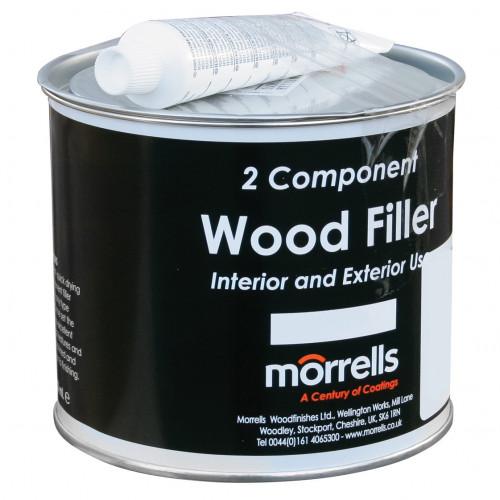 Wood Filler 2-Part Morrells Profil Black Workshop Pack 750 ml