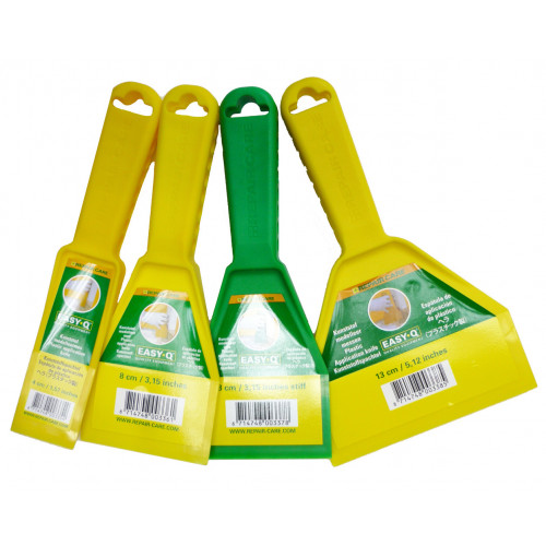 Repair Care Easy Q Application Knifes Various Widths Set of 4