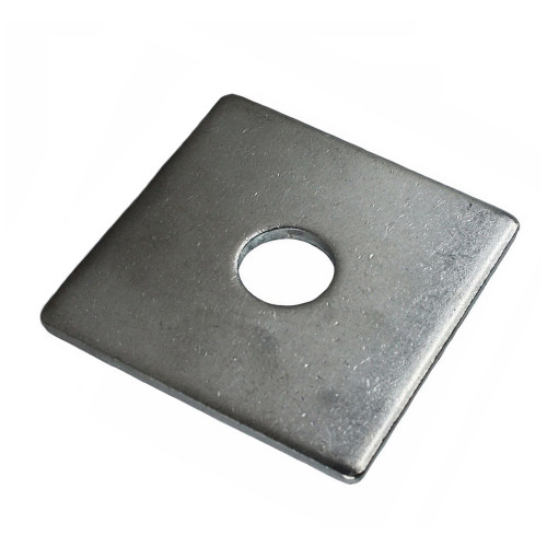 Washer  Square Plate  BZP  50 × 50 × 3mm  M10