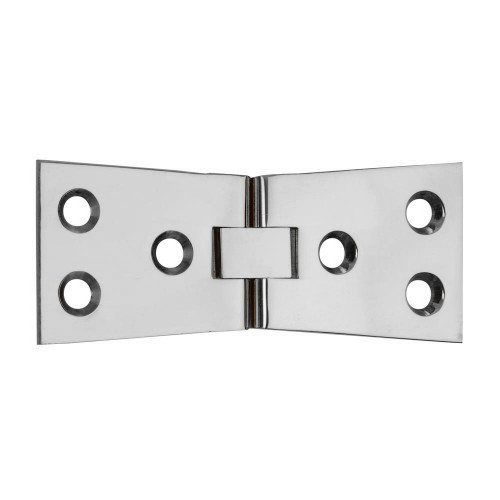 Counterflap Hinge, Polished Chrome 100mm × 32mm Pair