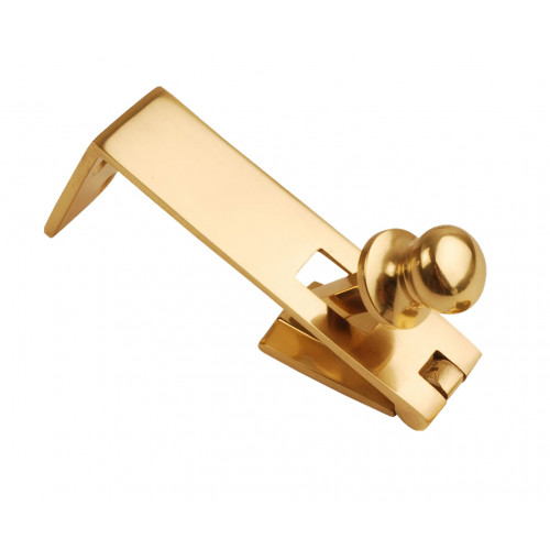 Counterflap Catch Premium Quality Polished Brass 76mm