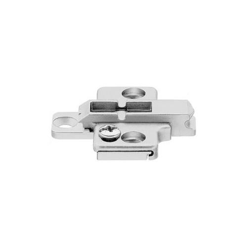 Blum Hinge Clip Mounting Plate Cruciform Diecast 2-Part Adjustable 0mm - 175H7100