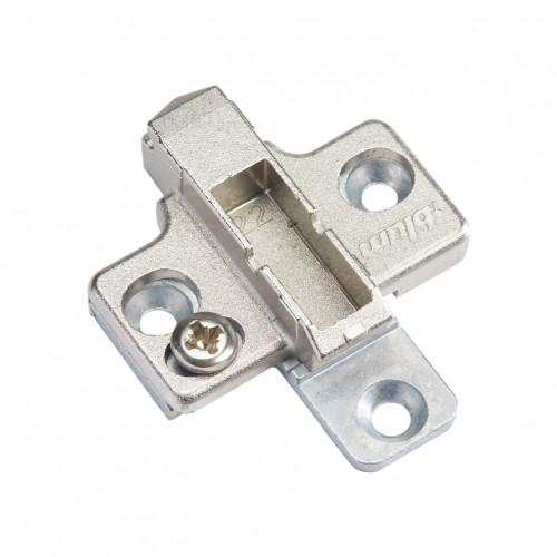 Blum Hinge Clip Mounting Plate Cruciform Diecast 2-Part Adjustable 3mm - 175H7130