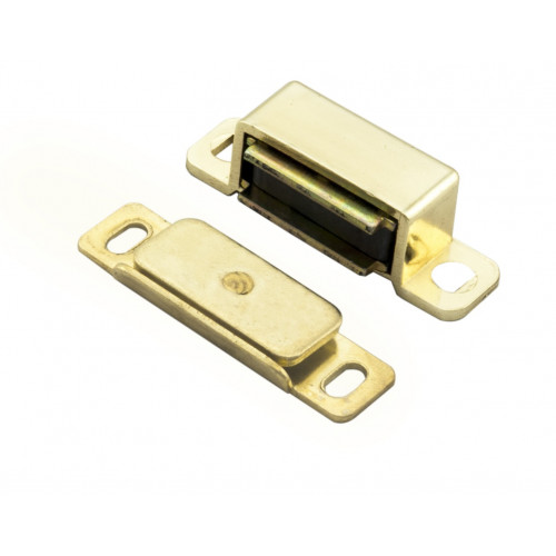 Magnetic Catch Premium Surface Fix Electro Brass 6Kg