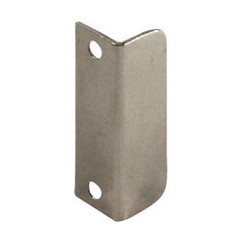 Strike Plate Angled Nickel Plate 40 × 12mm