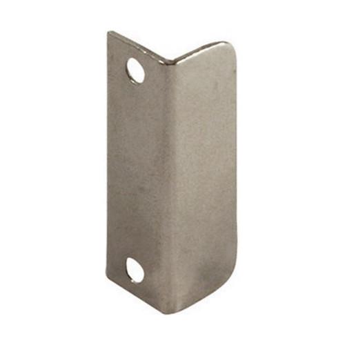 Strike Plate Angled Nickel Plate 40 × 12mm