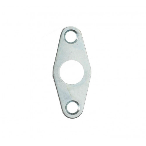 Budget Lock Flat Escutcheon Nickel Plate 51mm