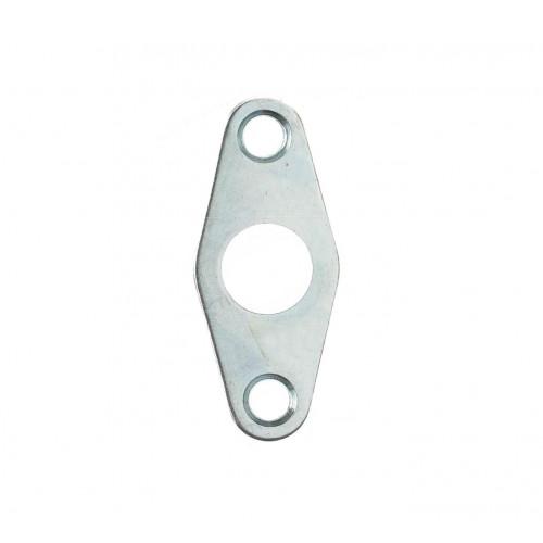 Budget Lock Flat Escutcheon Nickel Plate 51mm