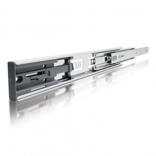Drawer Runners Ball Bearing Full Extension 45kg With Soft Close 250mm Pair