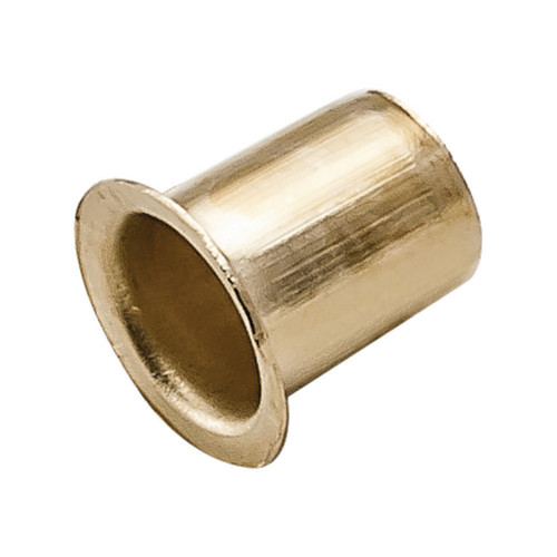 Shelf Stud Sockets For Spoon Type Electro Brass For 7mm Drill Hole