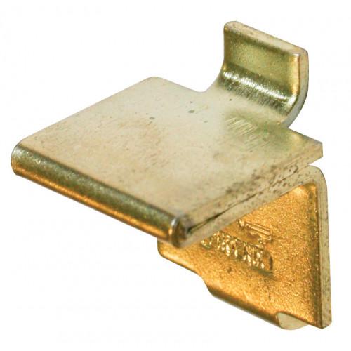 Bookcase Stud Flat Heavy Duty Electro Brass