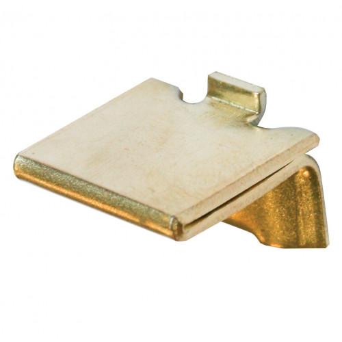 Bookcase Stud Raised Heavy Duty Electro Brass