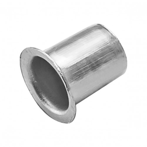 Shelf Stud Socket For Banjo Studs Nickel Plate For 7mm Drill Hole