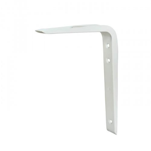 Shelf Bracket Hi-Load Reinforced White 150 × 125mm