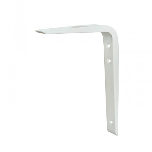 Shelf Bracket Hi-Load Reinforced White 150 × 125mm
