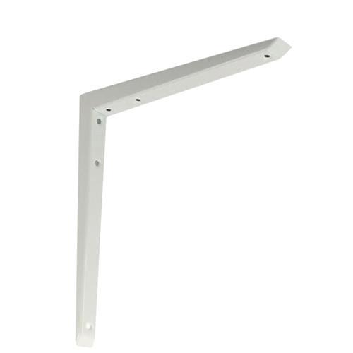 Shelf Bracket Hi-Load Mitred White 200 × 200mm