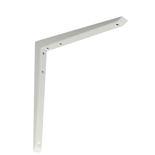 Shelf Bracket Hi-Load Mitred White 200 × 200mm