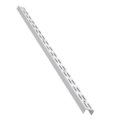 Shelving Twinslot Wall Upright White 450mm