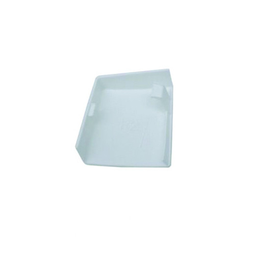 Kitchen Cabinet Hanger Cover White Left Hand
