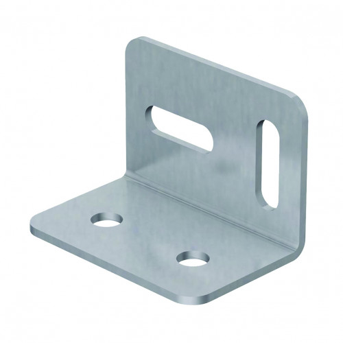 Stretcher Angle Bracket BZP 38 X 26mm