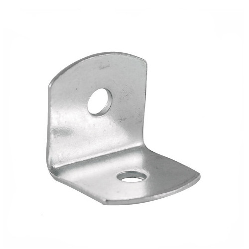 Corner Bracket BZP With Slotted Holes 19mm × 19mm