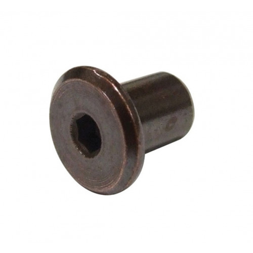 Joint Connecting Nut Florentine Bronze M6 × 16mm