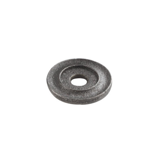 Warwick Circular Back Plate For Knobs Smooth Iron Finish Diameter 20mm