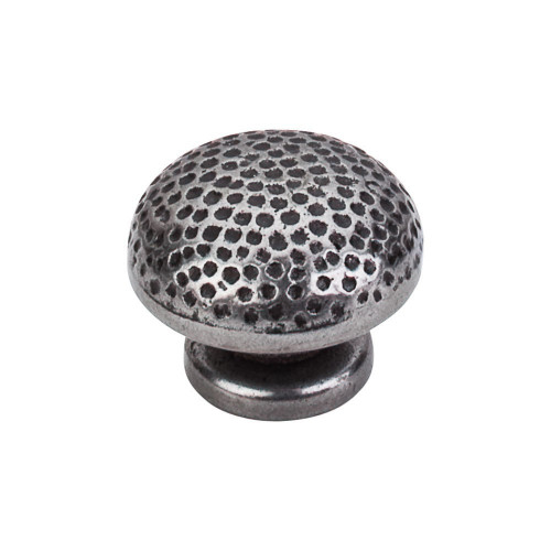 Warwick Knob Hammered Iron Finish Diameter 34mm