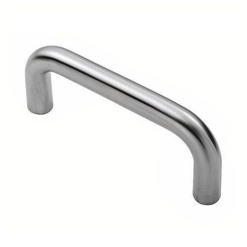 D-Pull Handle Satin Stainless Steel 10mm Bar 96mm