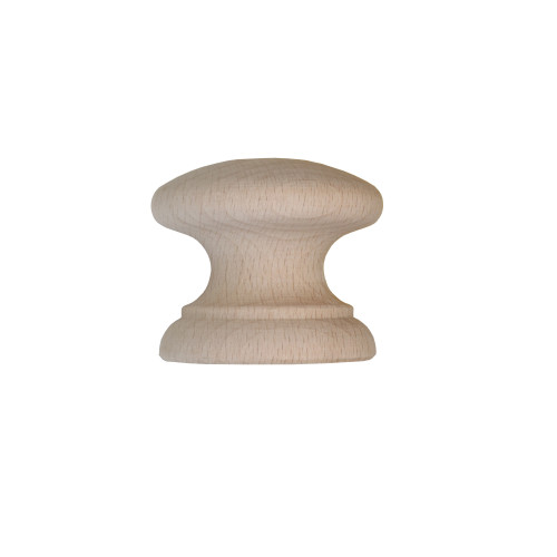 Beech Country Classic Insert Knob Diameter 34mm